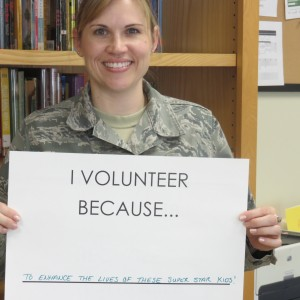Volunteer Week photo Stephanie Kimbrell