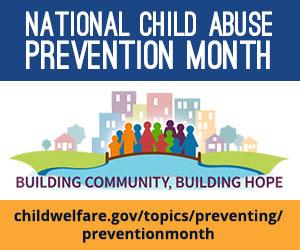 April child abuse awareness logo
