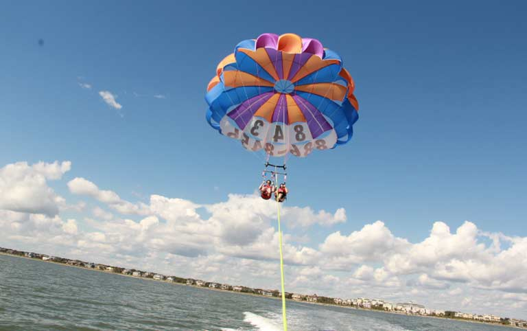 1 Ultimate Adeventure for 2, including tandem parasail and double safari Image