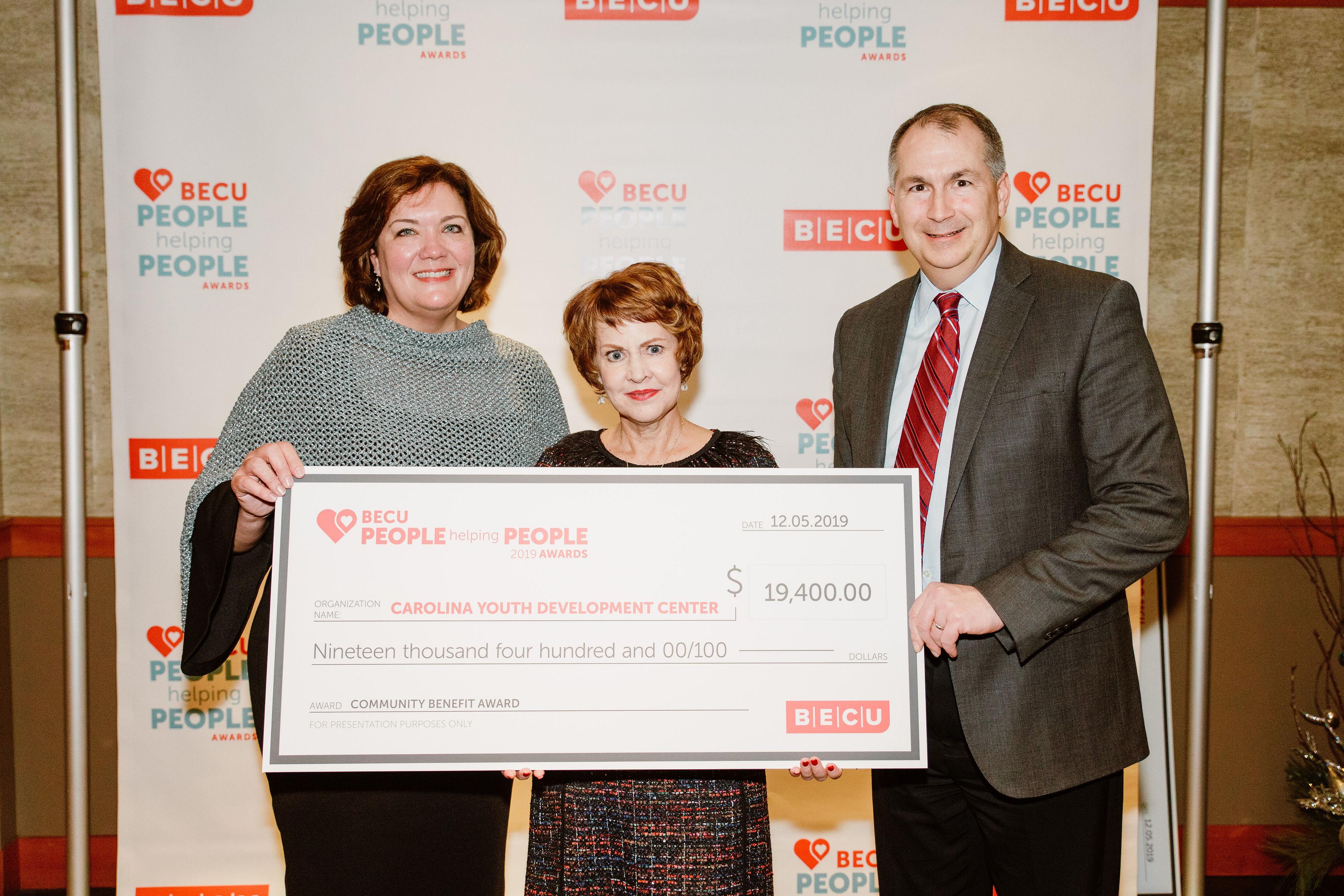 CYDC wins BECU's 2019 People Helping People Award